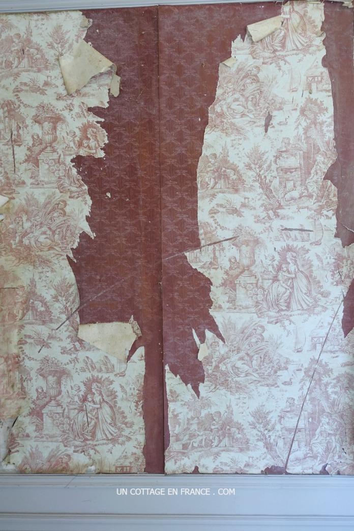 Papiers peints anciens Château Las Croux 1