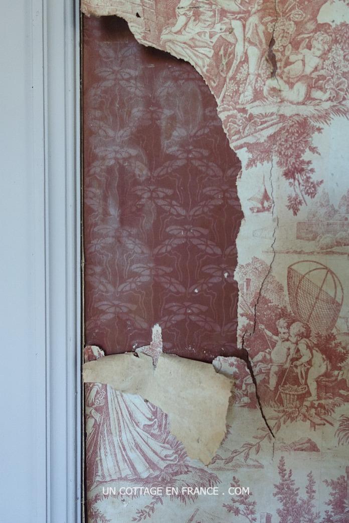 Papiers peints anciens Château Las Croux