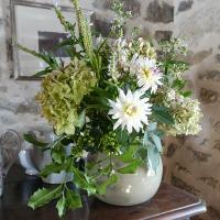 Un bouquet d'hortensias de début d'automne | An early Autumn hydrangeas bouquet