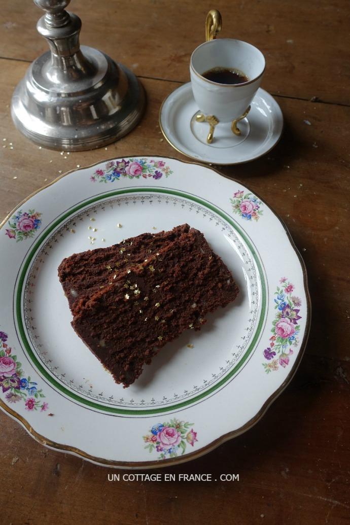 Gateau au chocolat france Maison romantique campagne chic romantic house france