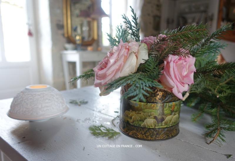 Bouquet rapide d'hiver (Fat and easy winter bouquet)