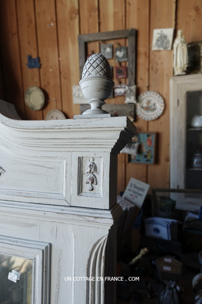 french vintage rustic interior brocante