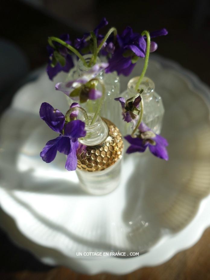 Dans des échantillons de parfum (In fragrance samples)