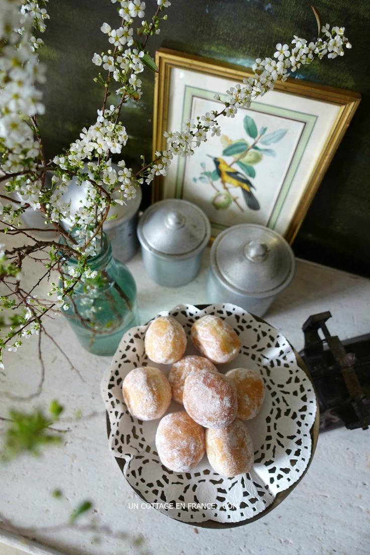Les beignets de Mardi Gras (Shrove Tuesday doughnuts)