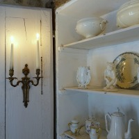 Mélange de blancs : le placard remanié campagne chic | Old whites: the repurposed country-chic cupboard