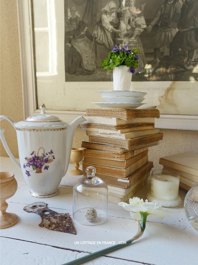Blog esprit cottage, décoration romantique campagne