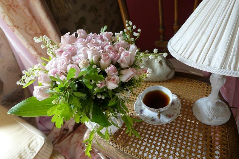 Bouquet de mai cottage, blog campagne chic, shabby chic français 13s