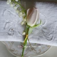 Petite couronne de boutons de roses & muguet | Little rosebuds wreaths & lilly-of-the-valley