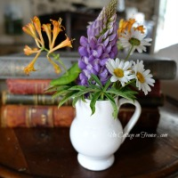 Un PETIT BOUQUET cottage (A cottage pocket spring bouquet)