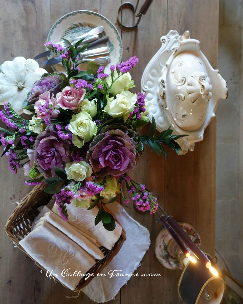 bouquet romantique de novembre