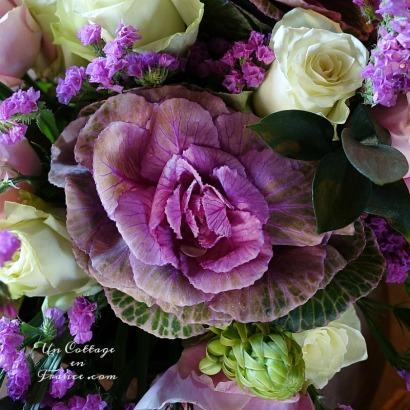 bouquet d'automne campagne chic