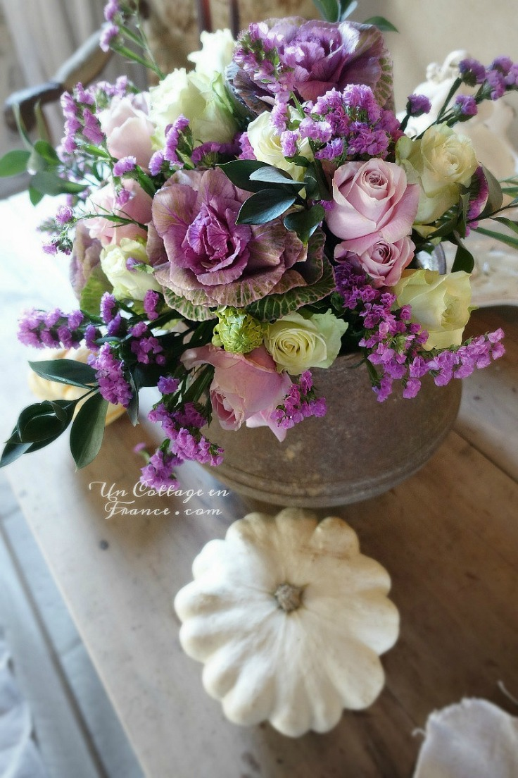 Bouquet de novembre Bloom's - un COTTAGE en FRANCE.com 1c gg