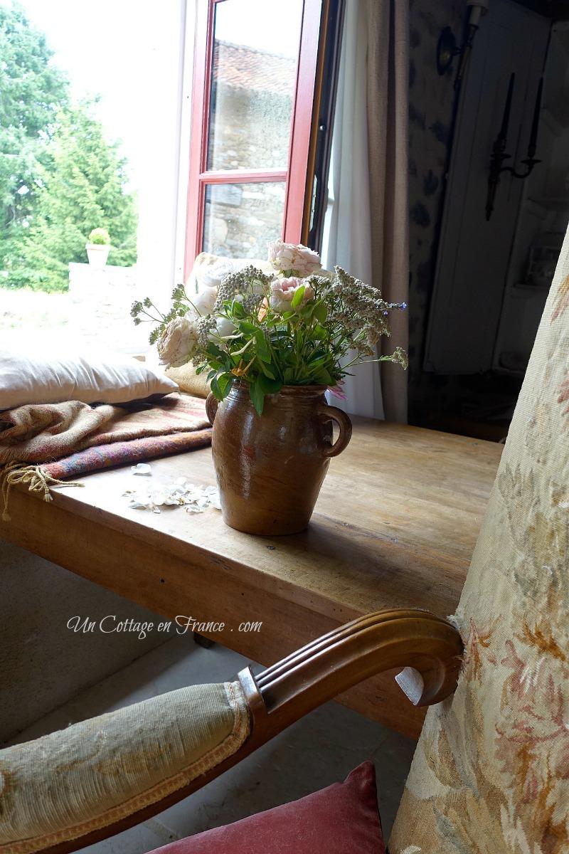 Bouquet rustique (A rustic cottage arrangement)