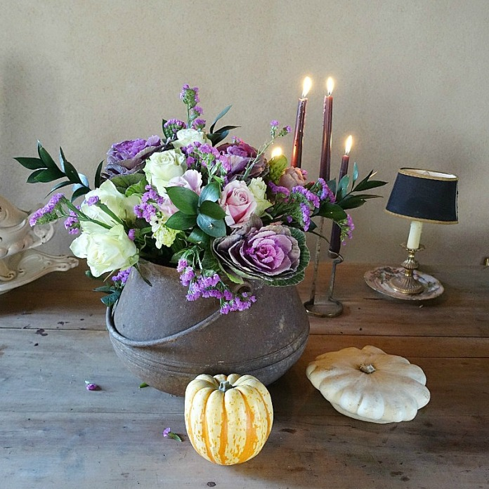 Bouquet violet de novembre Bloom's