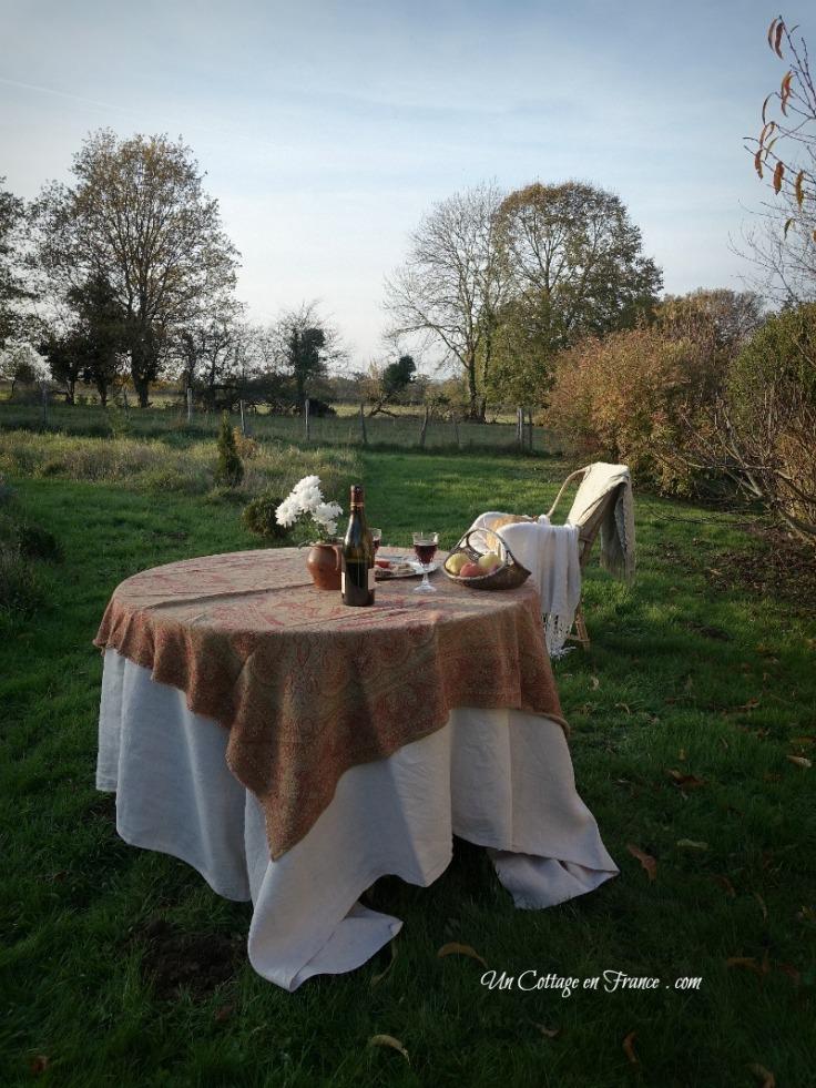 Snack au cottage foie gras, Un Cottage en France 3 h