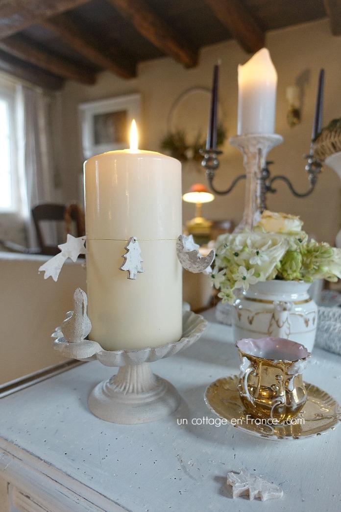bougie de noel style cottage - uncottageenfrance.com 2
