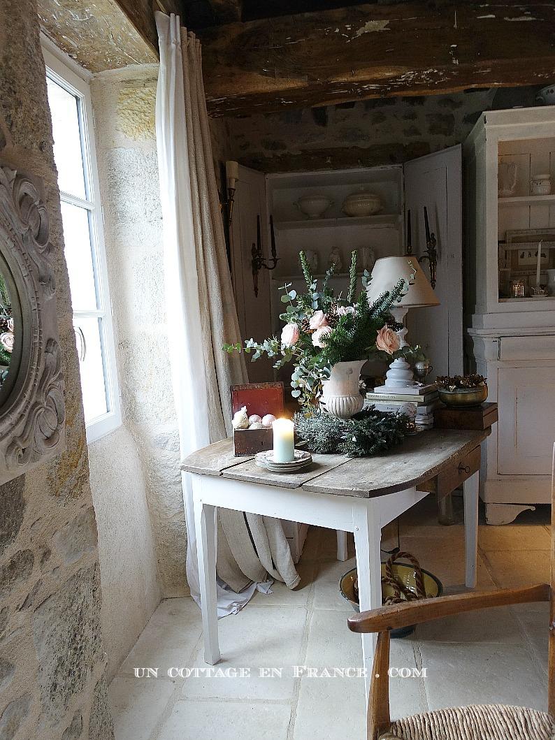Bouquet de noel - blog campagne chic