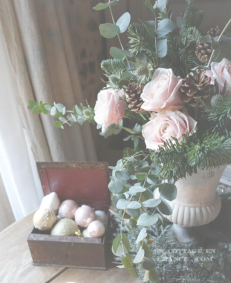 Bouquet de noel - blog campagne chicnc