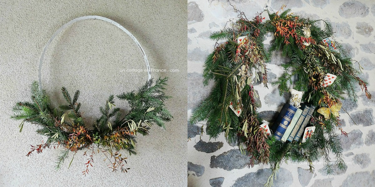 Une couronne ou deux en préparation de Noël (A wreath or two to prepare for Christmas)