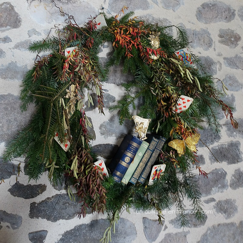 La couronne 2017 diy (The 2017 wreath)