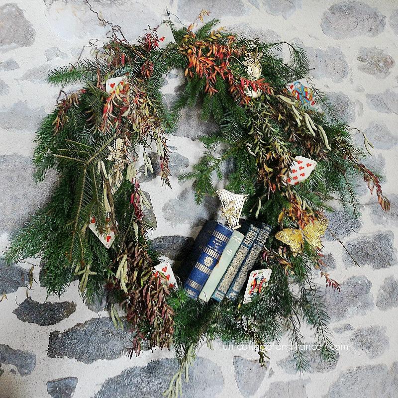 Couronne de Noël cottage (Cottage Christmas wreath)