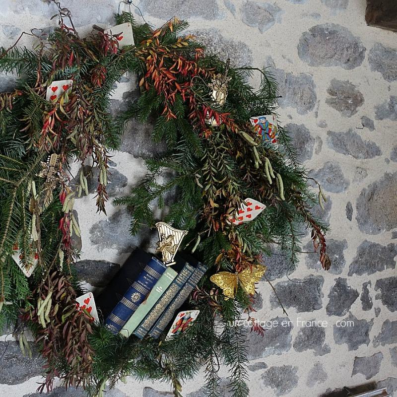 La couronne 2017 diy (The 2017 wreath)