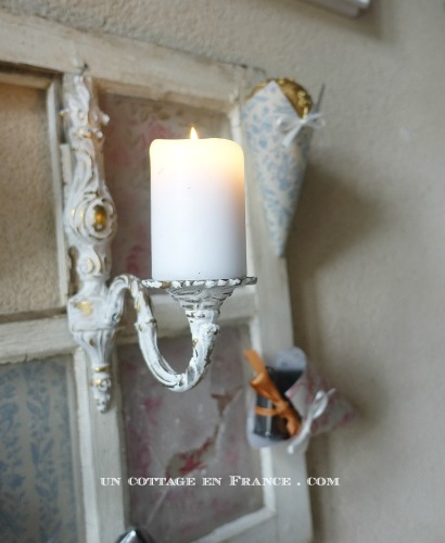 décoration shabby chic noel