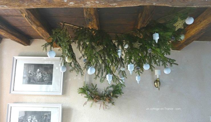 Les déco blanches de Noël 2017, blog cottage chic 221
