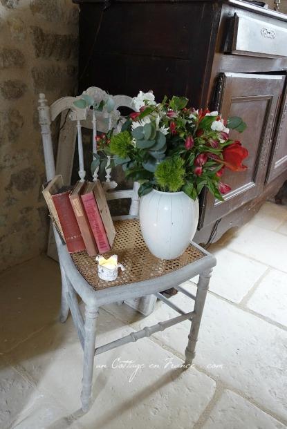 Maison campagne romantique, blog campagne chic relooking de la chaise