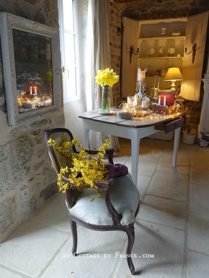 décoration vintage romantique