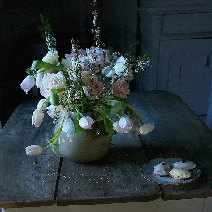 Bouquet romantique d'avril 1