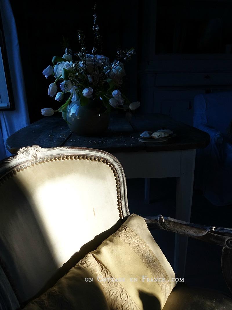 Le fauteuil campagne chic du cottage