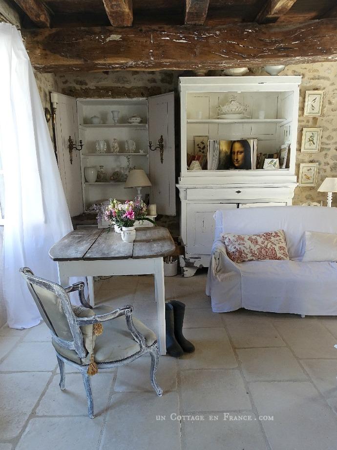 maison de campagne romantique