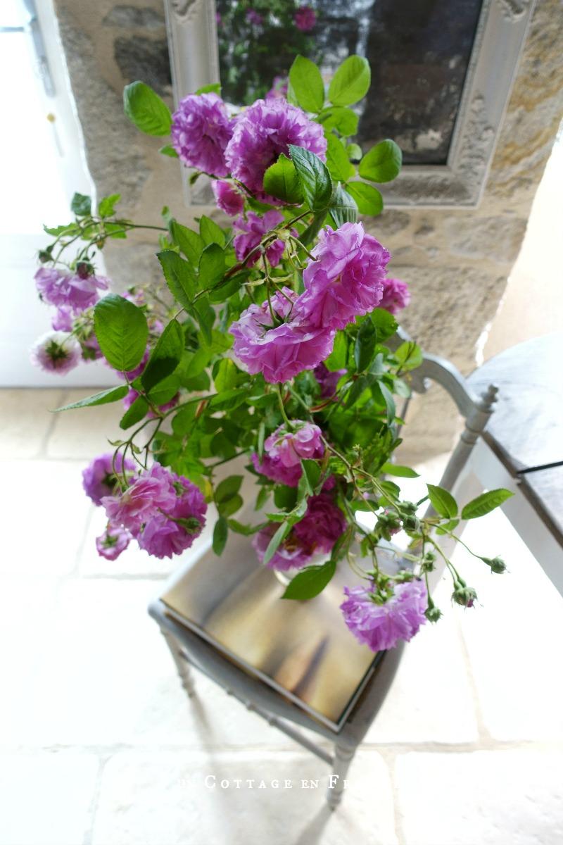 Les bouquets de rose grimpantesn blog cottage chic 4
