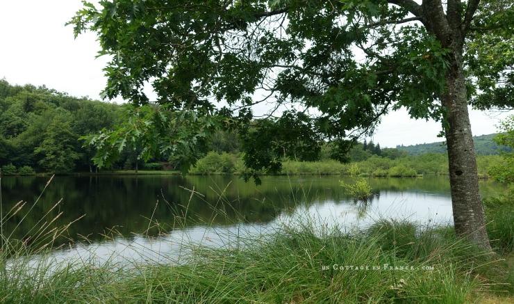 Etang à Vaulry - blog cottage chic 2