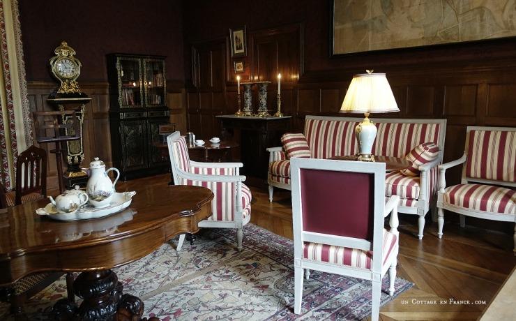 Chateau Azay le Rideau Salle à manger