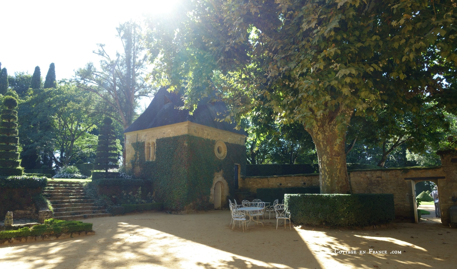 Jardin du Manoir d'Eyrignac 4