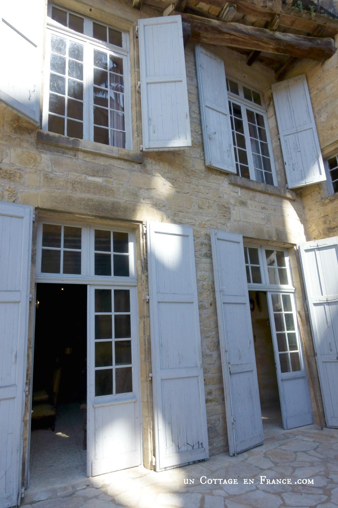 Manoir de Gisson Fenetre balcon