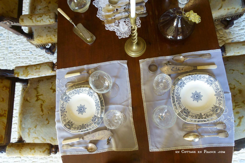 Manoir de Gisson Sarlat table 1