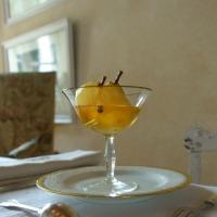 Des poires au Beaumes-de-Venise | Pears cooked in white wine