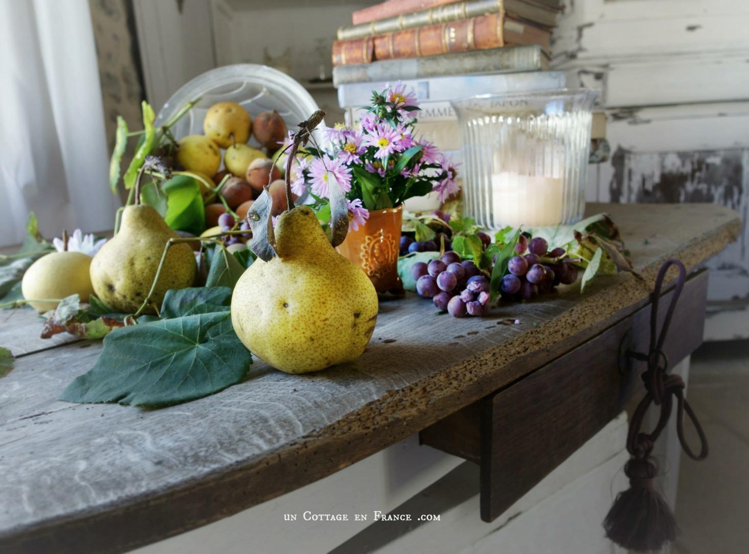 Composition d'automne, blog campagne chic