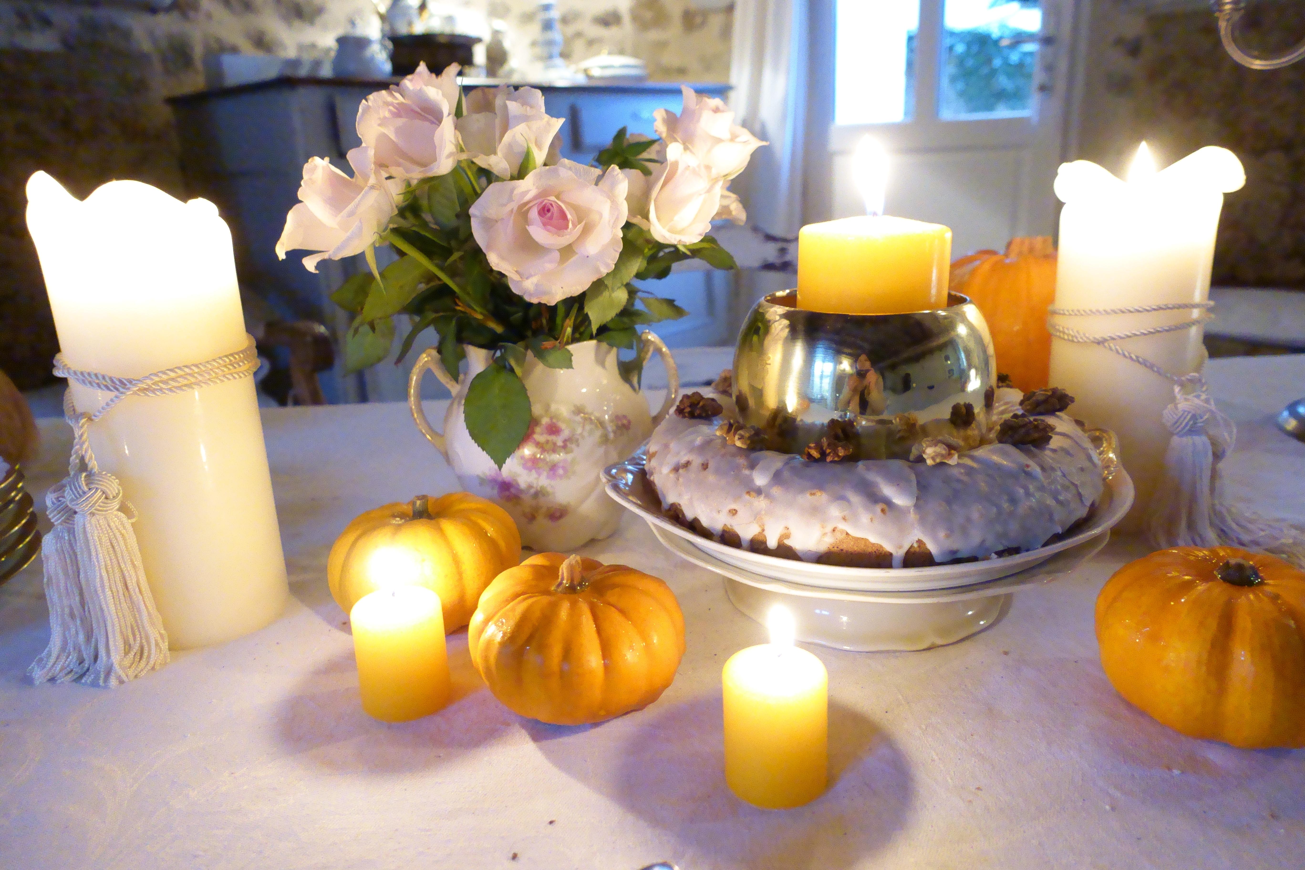 Douceur rustique : un gâteau à la farine de châtaigne de saison | Rustic indulgence: a chestnut flour season's tea cake