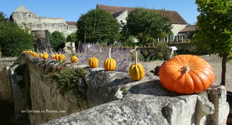 Octobre au Chateau du Rivau 1