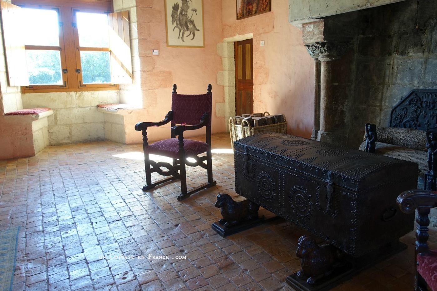Septembre au Chateau du Rivau 3