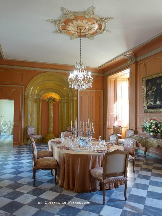Villandry intérieur du château 1