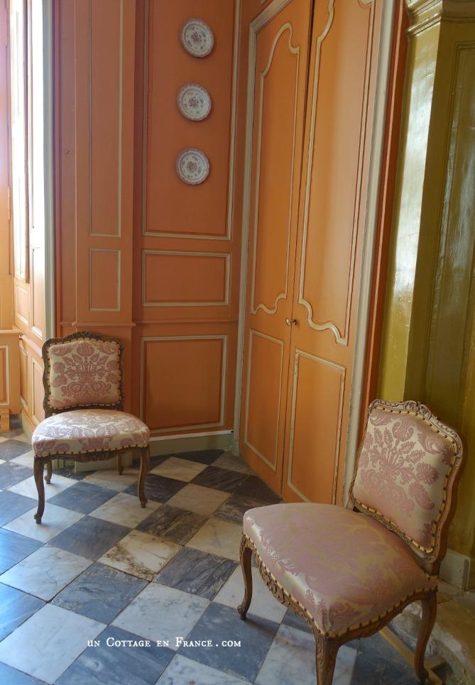 Villandry intérieur du château 2