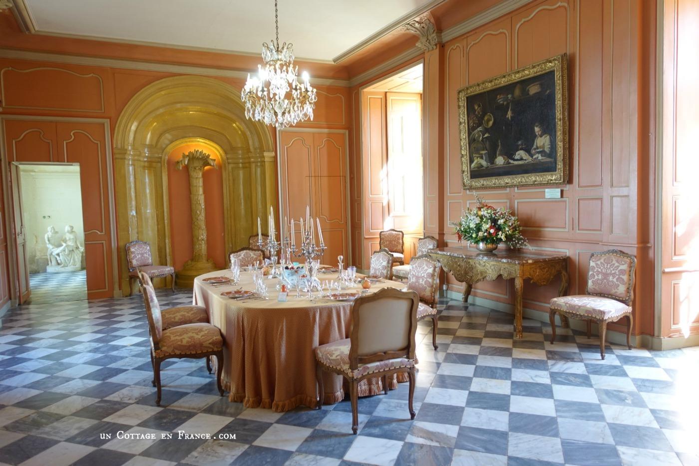 Villandry intérieur du château