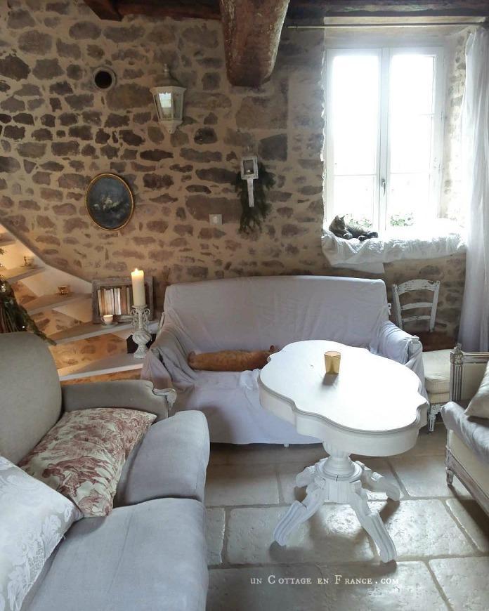Decor de Noel cottage Un Cottage en France 41