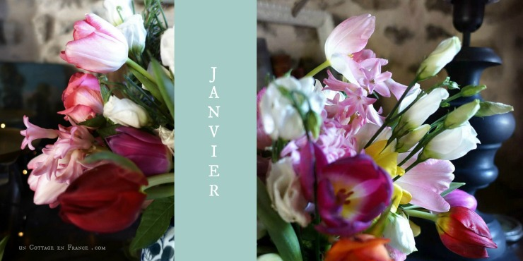 bouquet de janvier un cottage en france g1