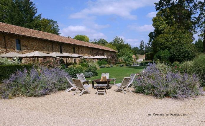 jardin romantique du domaine des Etangs